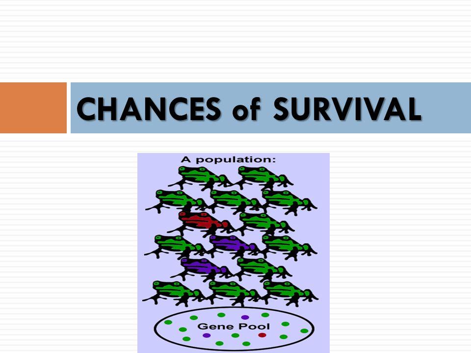 CHANCES of SURVIVAL