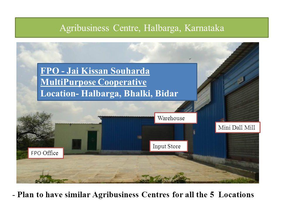 Agribusiness Centre, Halbarga, Karnataka
