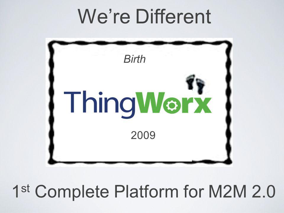 1st Complete Platform for M2M 2.0