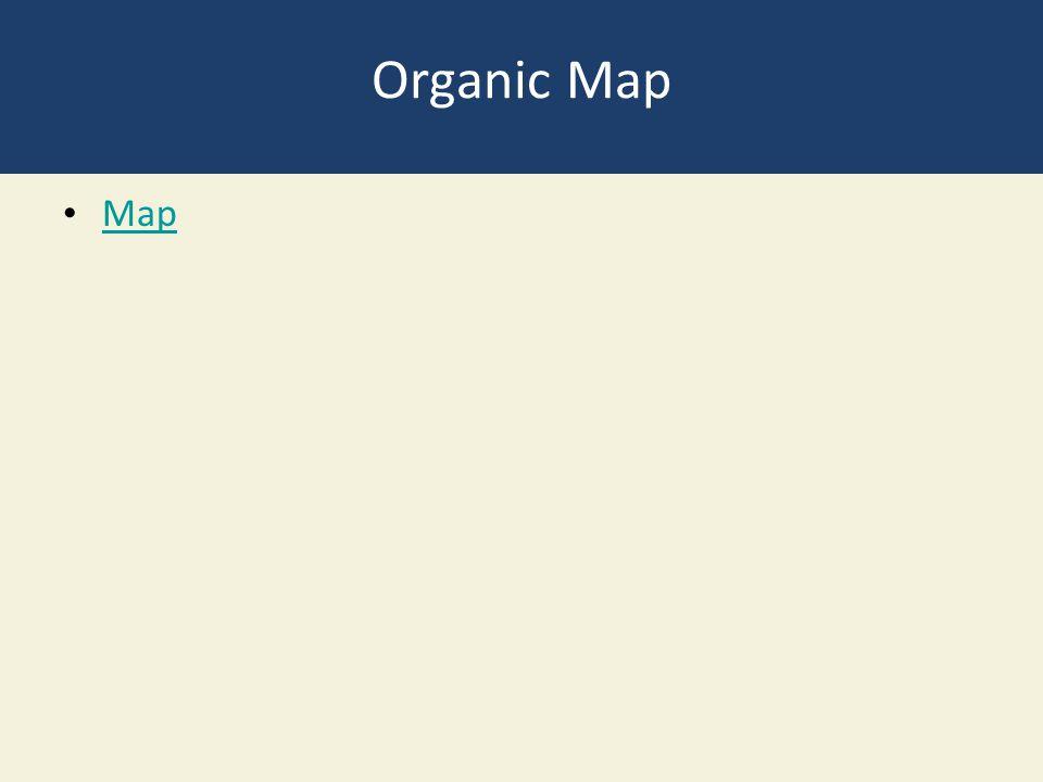 Organic Map Map