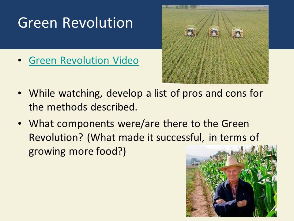 Green Revolution Green Revolution Video