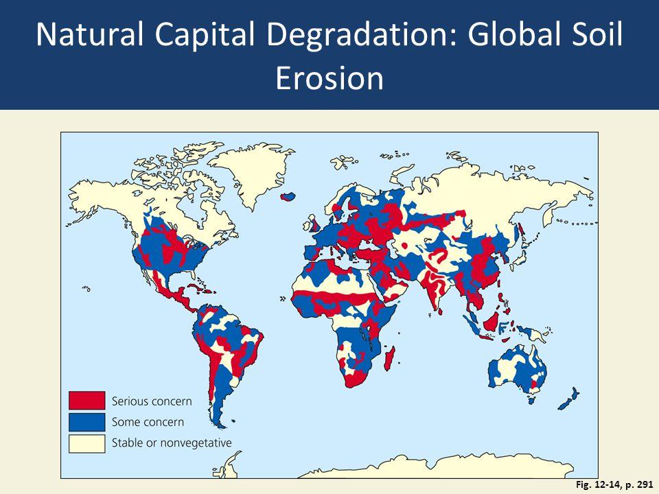 Natural Capital Degradation: Global Soil Erosion
