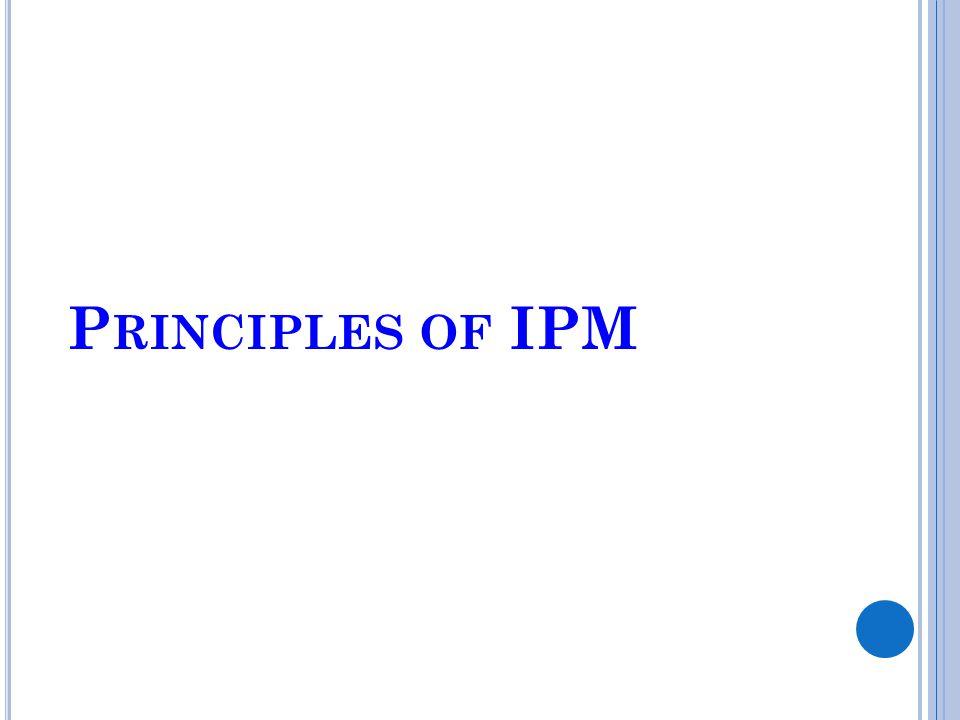 Principles of IPM