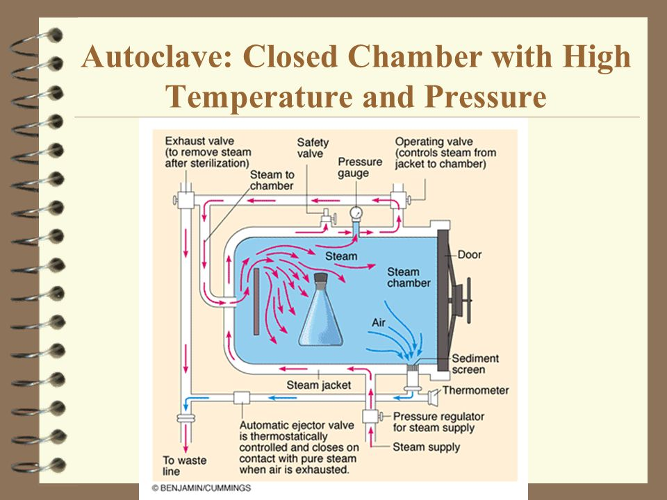 Autoclave: Closed Chamber with High Temperature and Pressure