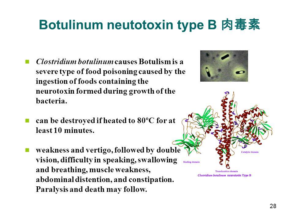 Botulinum neutotoxin type B 肉毒素