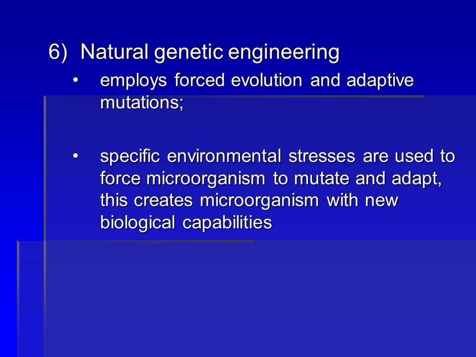 Natural genetic engineering