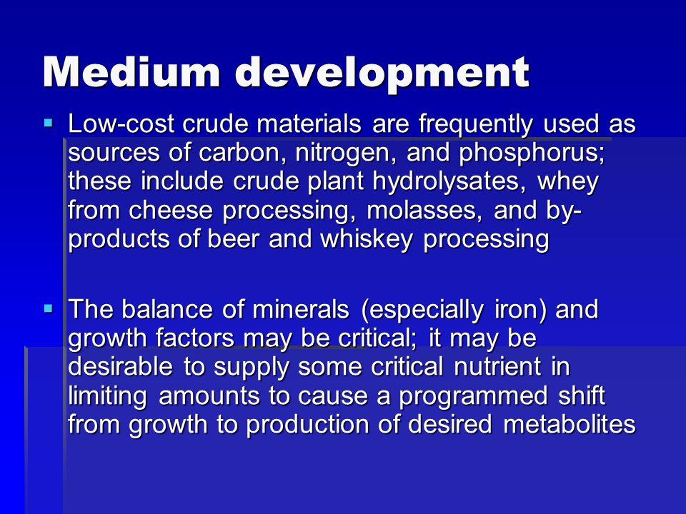 Medium development