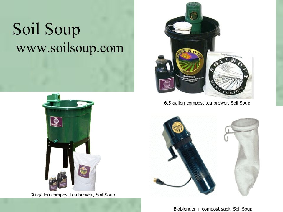 Soil Soup www.soilsoup.com