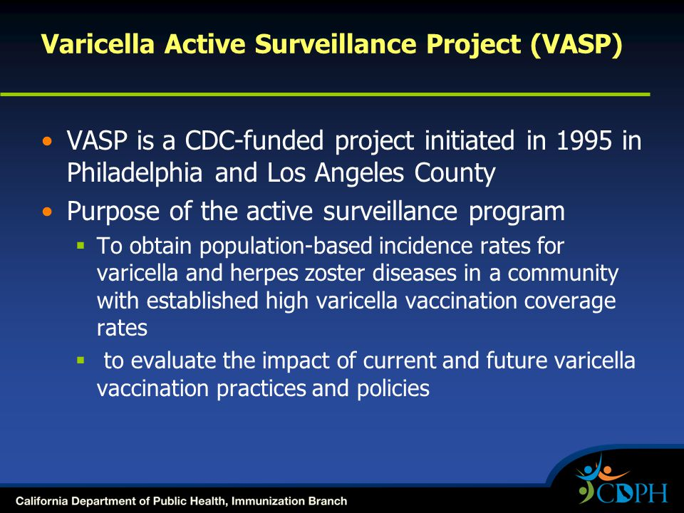 Varicella Active Surveillance Project (VASP)