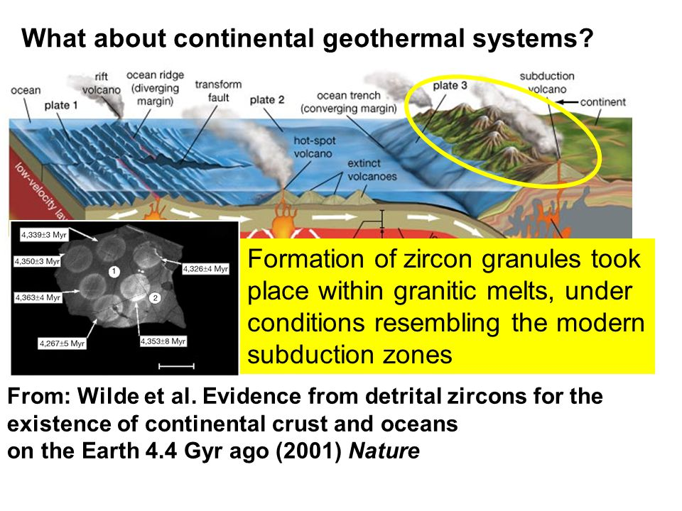 What about continental geothermal systems