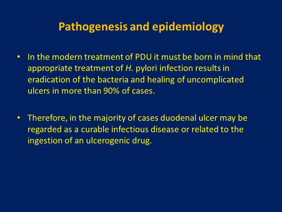 Pathogenesis and epidemiology