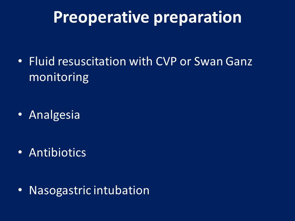 Preoperative preparation