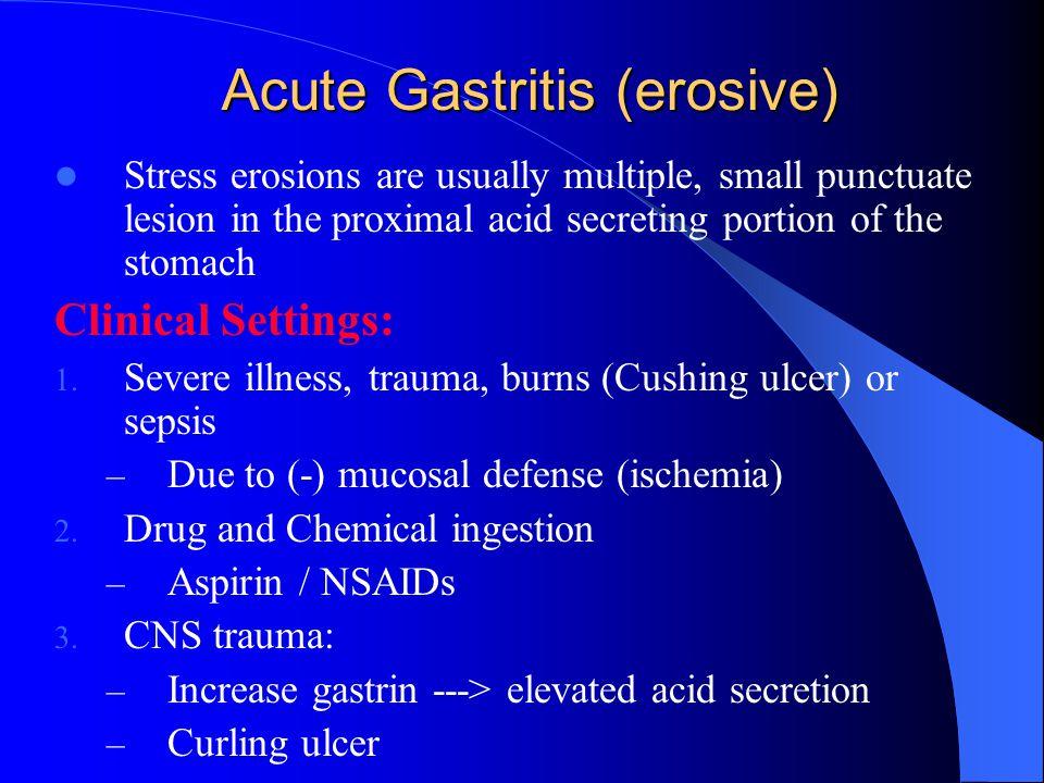Acute Gastritis (erosive)