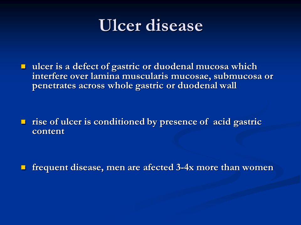 Ulcer disease
