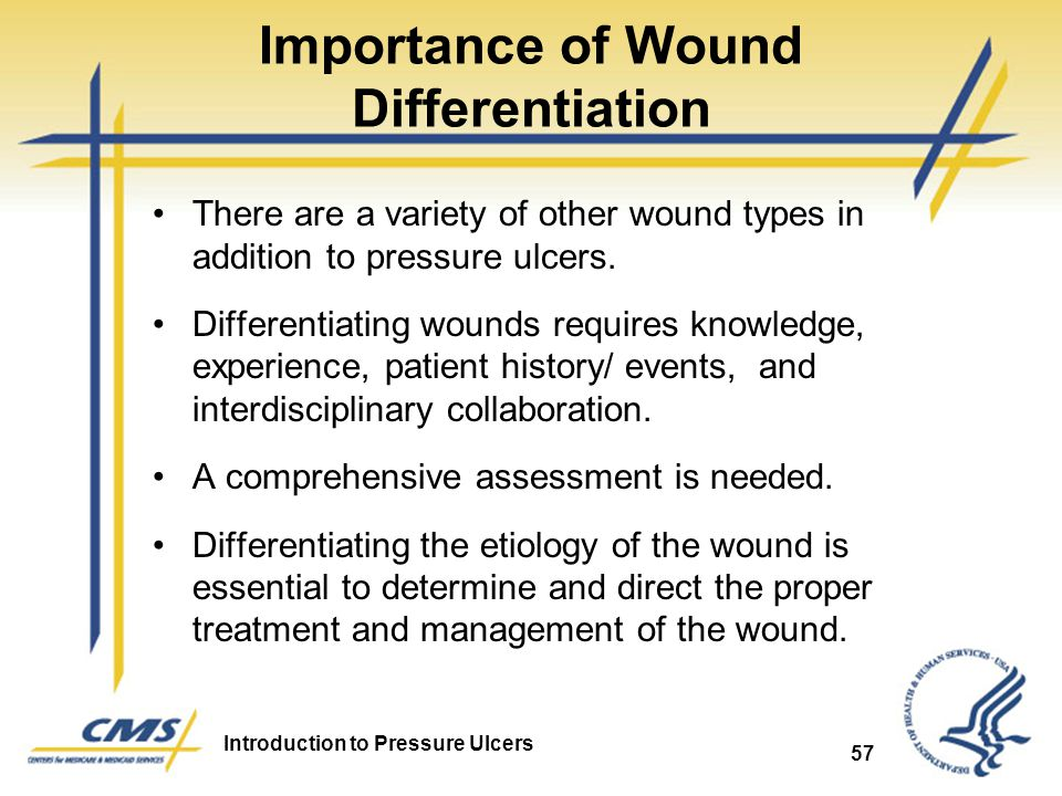 Importance of Wound Differentiation