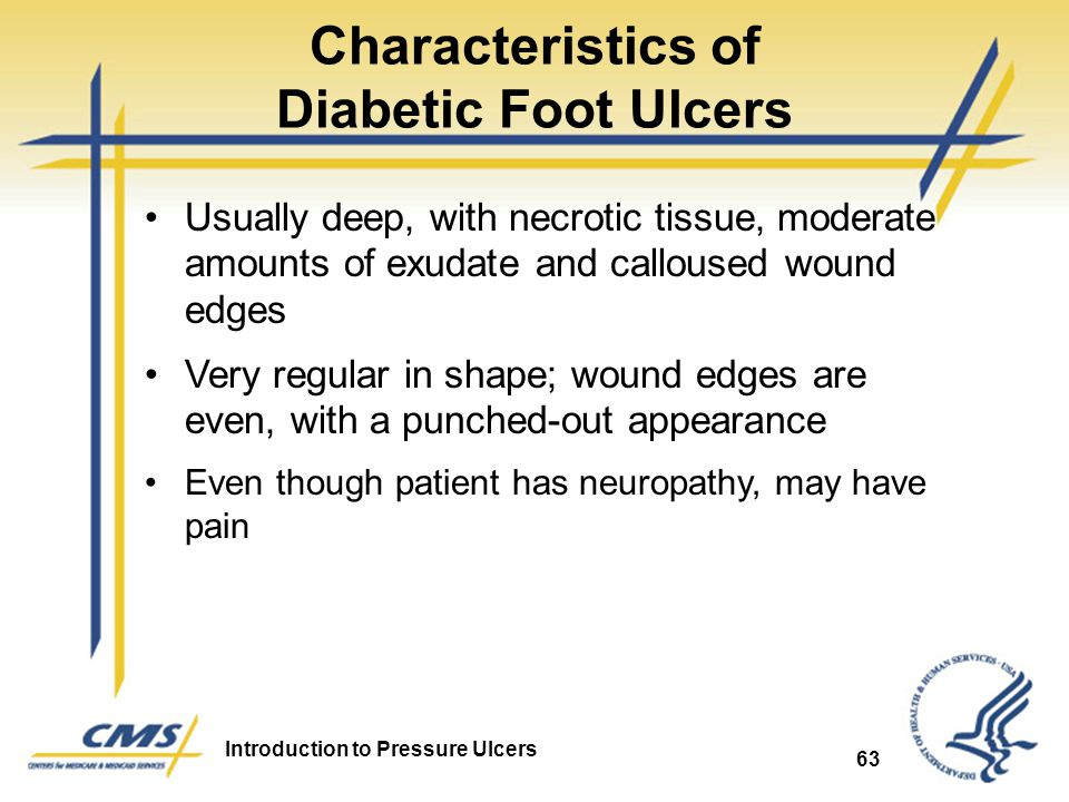 Characteristics of Diabetic Foot Ulcers