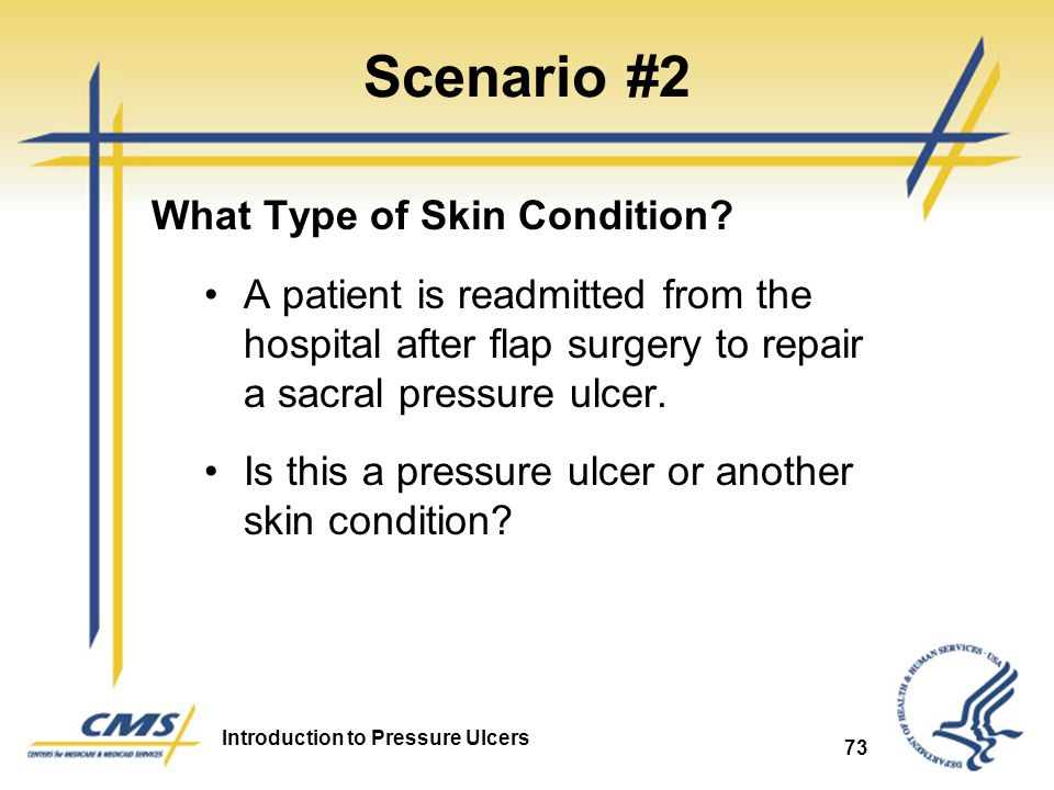 Scenario #2 What Type of Skin Condition
