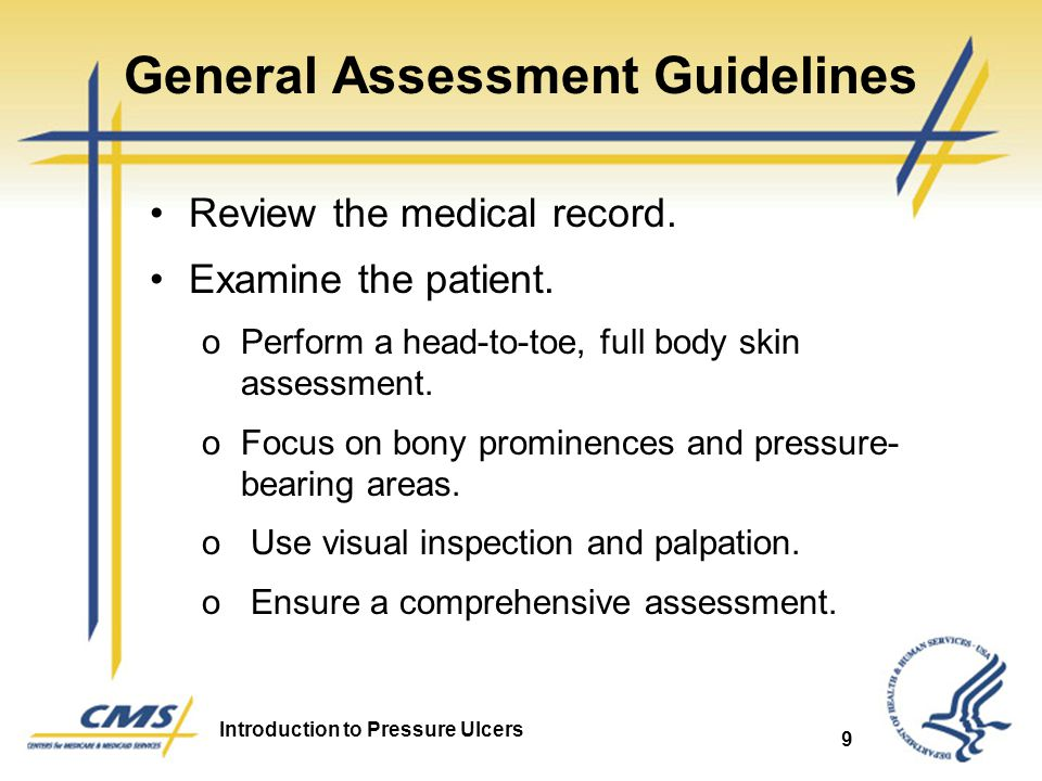 General Assessment Guidelines