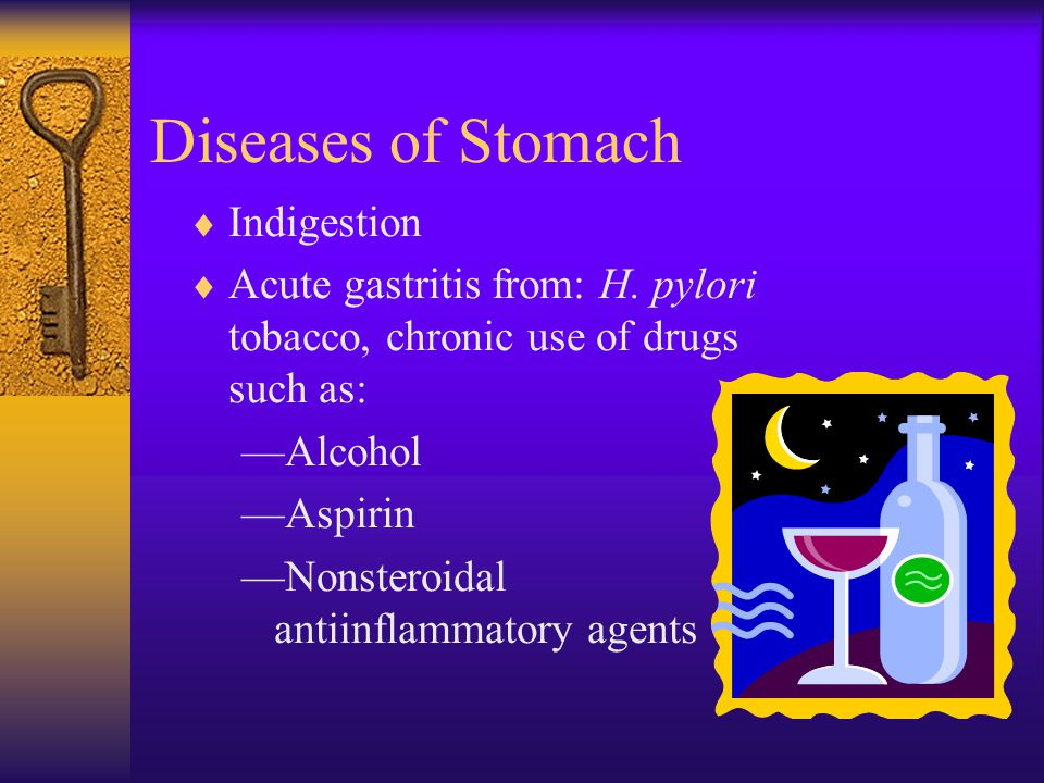 Diseases of Stomach Indigestion
