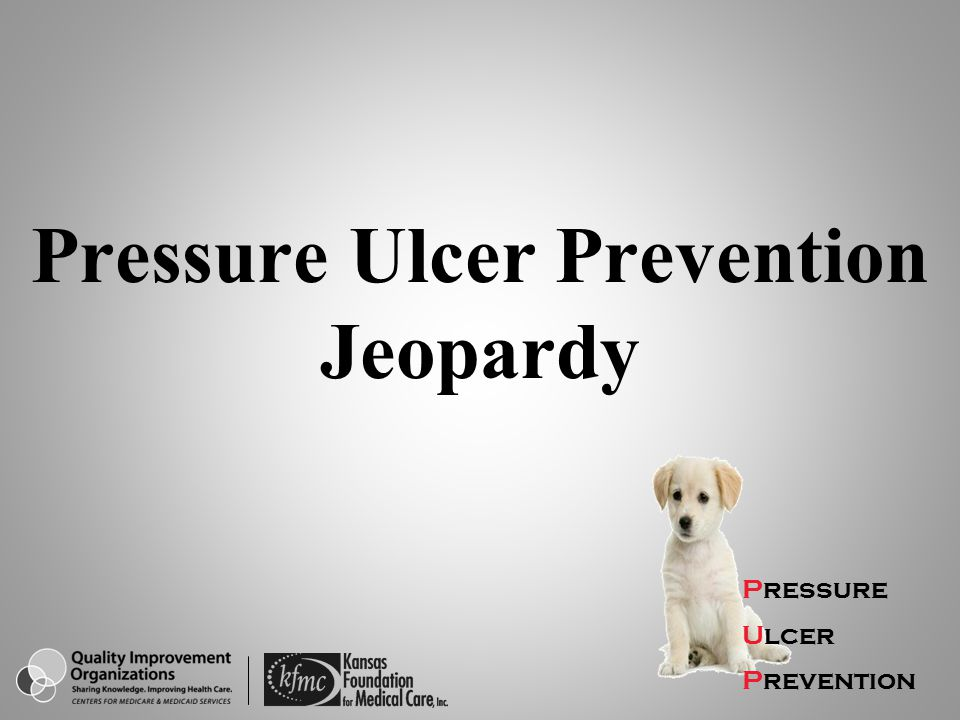 Pressure Ulcer Prevention Jeopardy
