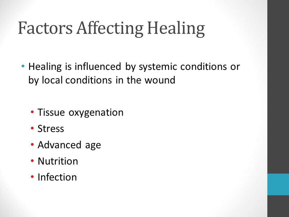Factors Affecting Healing