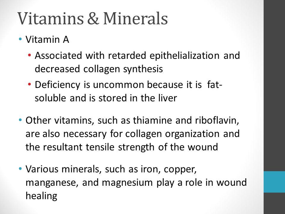 Vitamins & Minerals Vitamin A