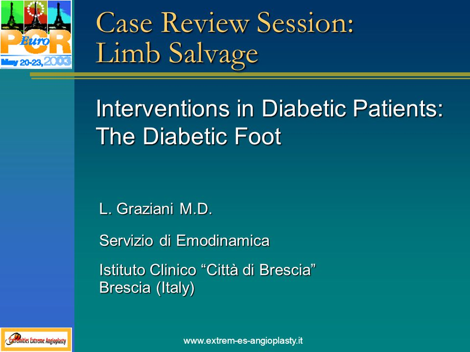 Case Review Session: Limb Salvage