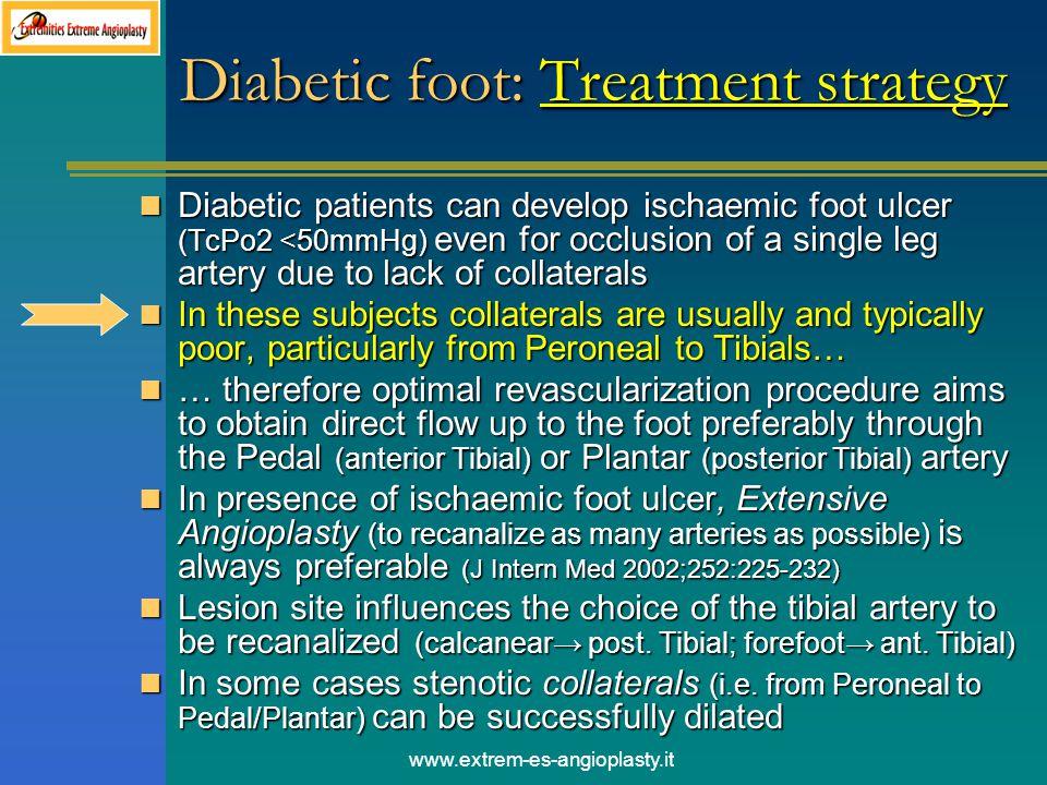 Diabetic foot: Treatment strategy
