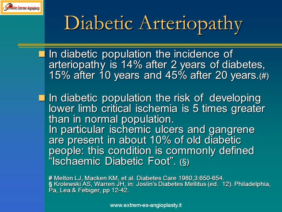 Diabetic Arteriopathy