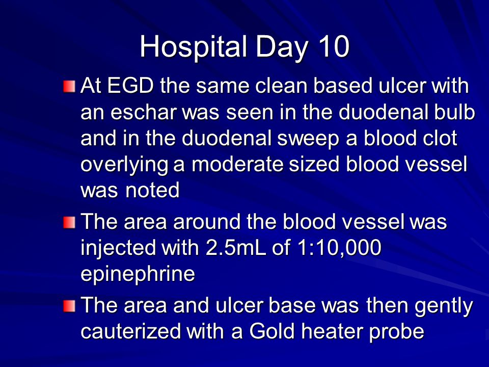Hospital Day 10