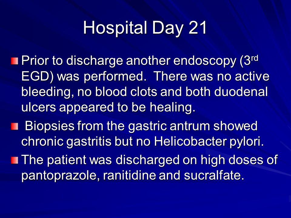 Hospital Day 21