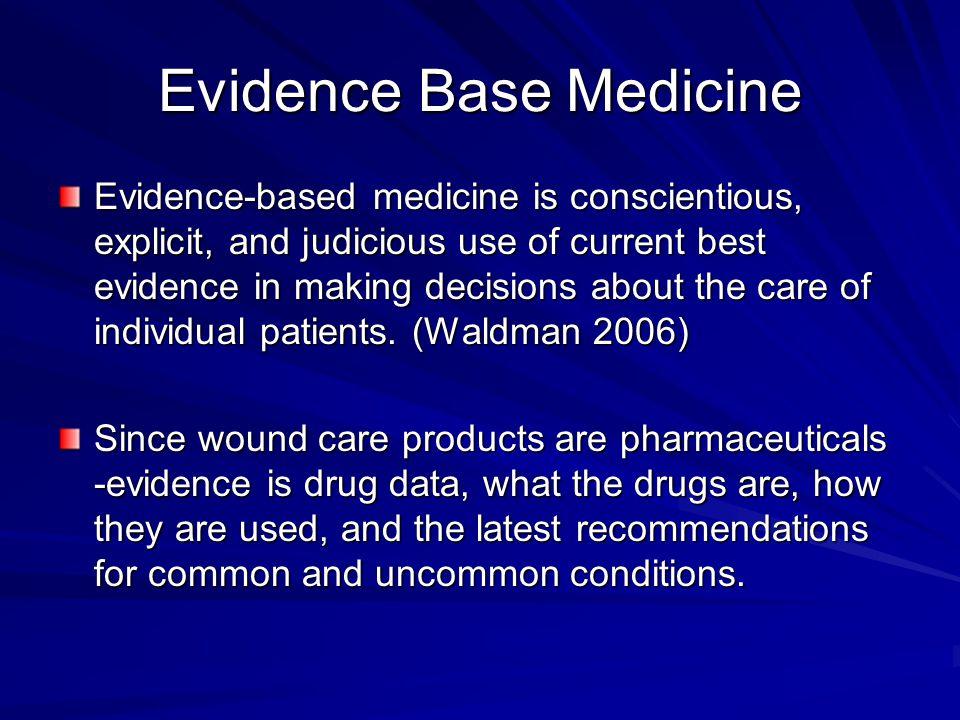 Evidence Base Medicine