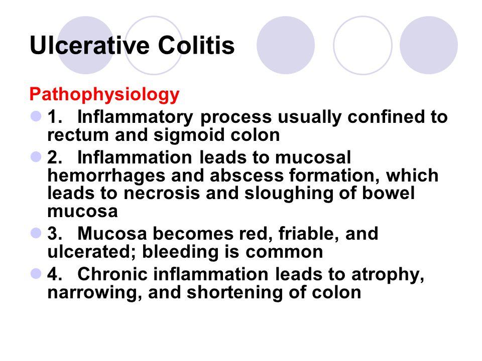 Ulcerative Colitis Pathophysiology