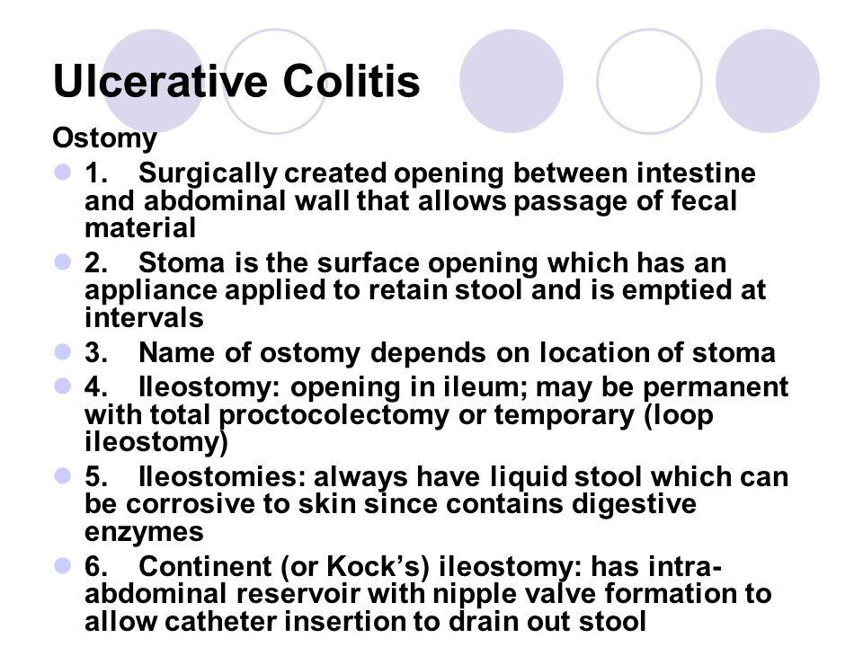 Ulcerative Colitis Ostomy