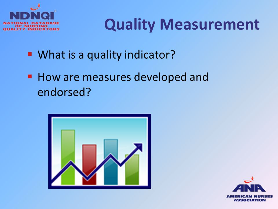 Quality Measurement What is a quality indicator