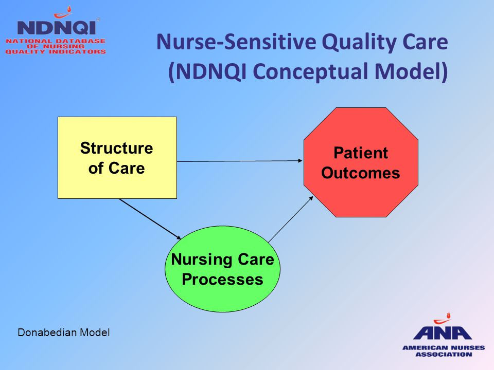 Nurse-Sensitive Quality Care (NDNQI Conceptual Model)