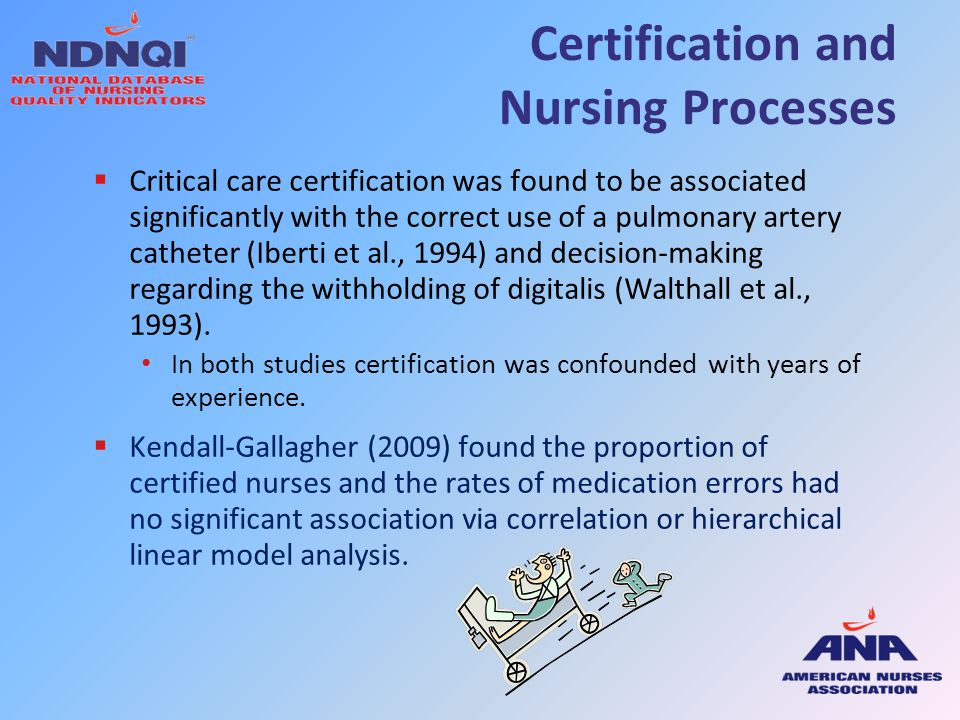 Certification and Nursing Processes