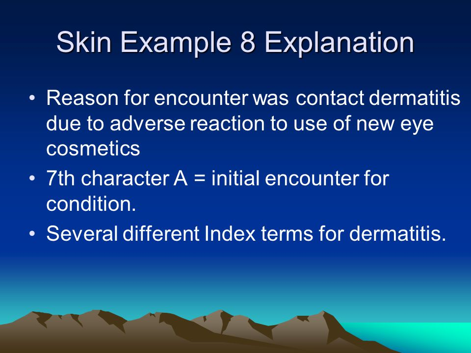 Skin Example 8 Explanation
