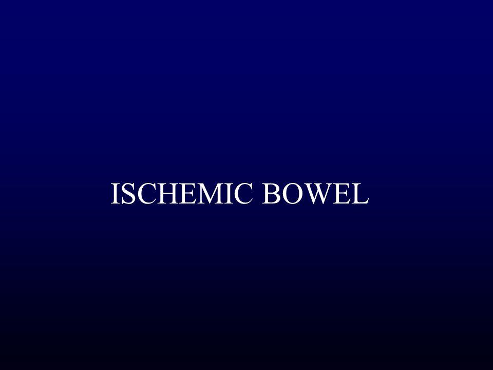 ISCHEMIC BOWEL