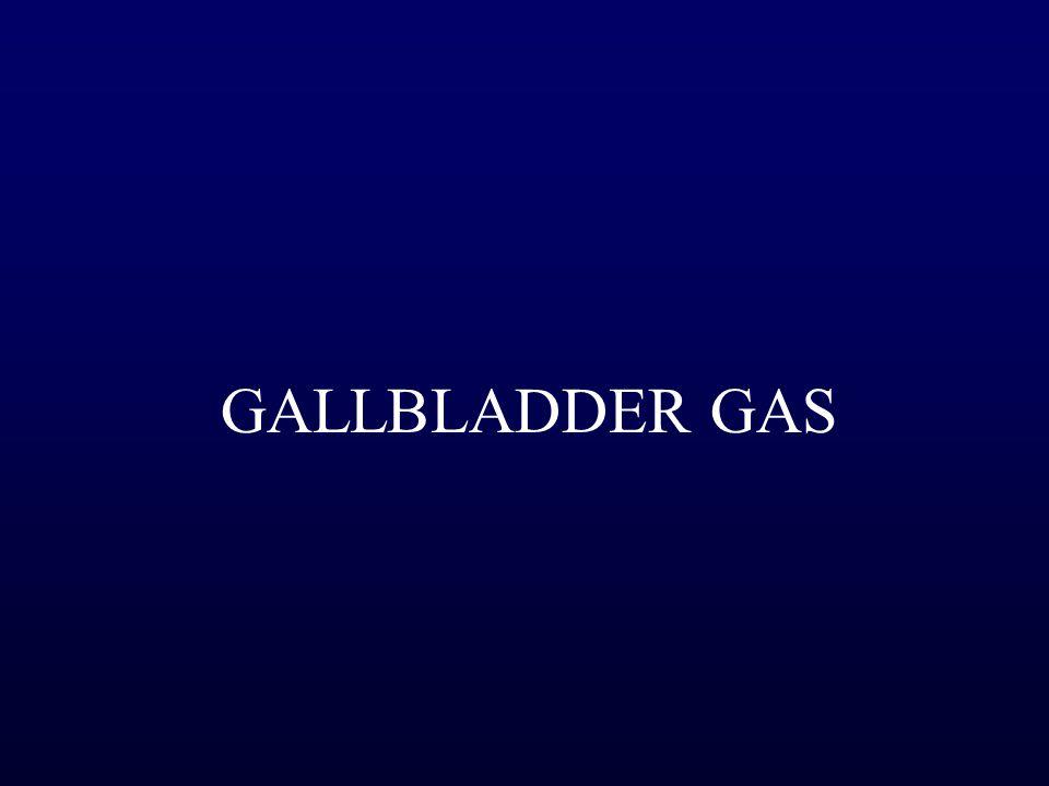 GALLBLADDER GAS