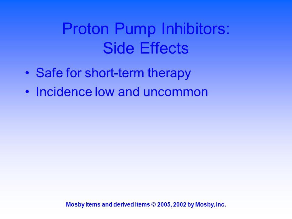 Proton Pump Inhibitors: Side Effects