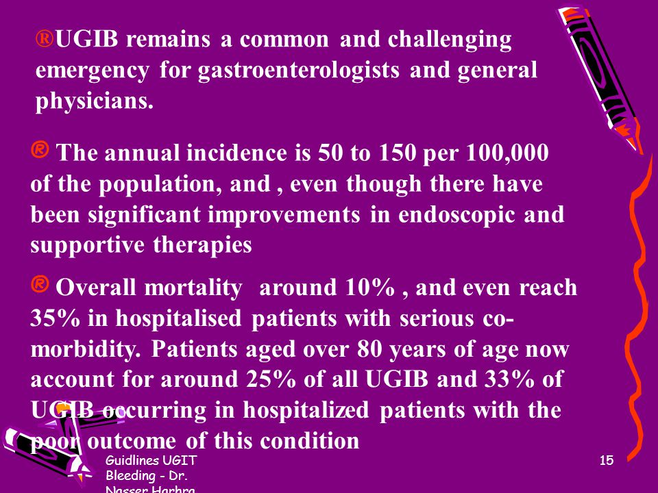 ®UGIB remains a common and challenging emergency for gastroenterologists and general physicians.