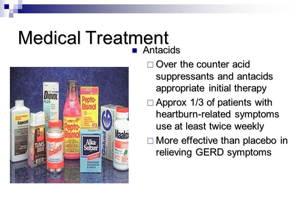 Medical Treatment Antacids
