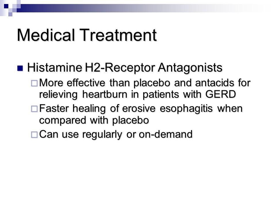Medical Treatment Histamine H2-Receptor Antagonists