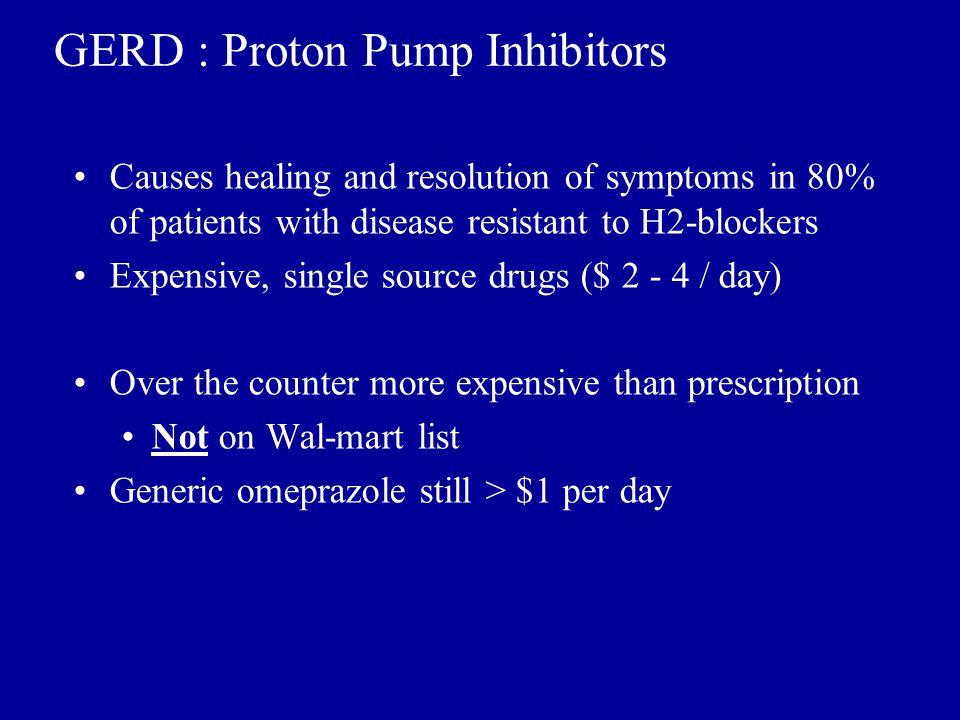 GERD : Proton Pump Inhibitors