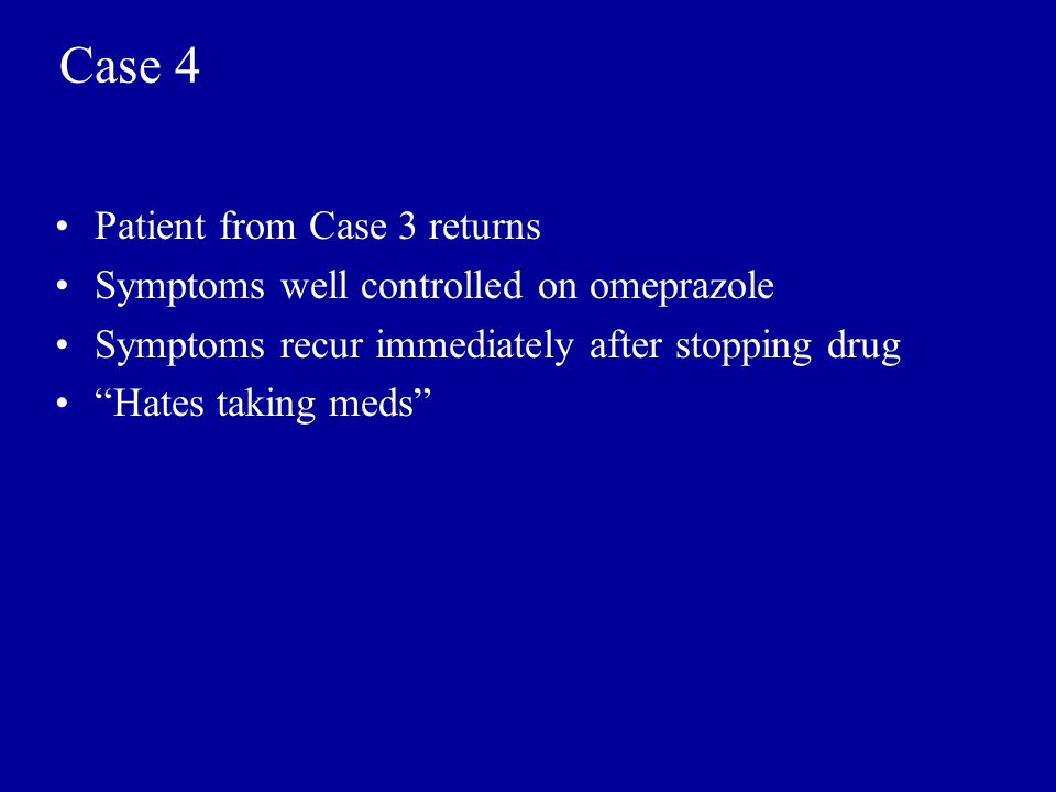 Case 4 Patient from Case 3 returns
