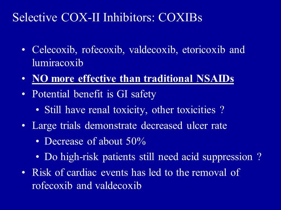 Selective COX-II Inhibitors: COXIBs