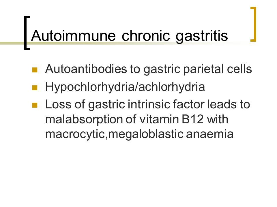 Autoimmune chronic gastritis