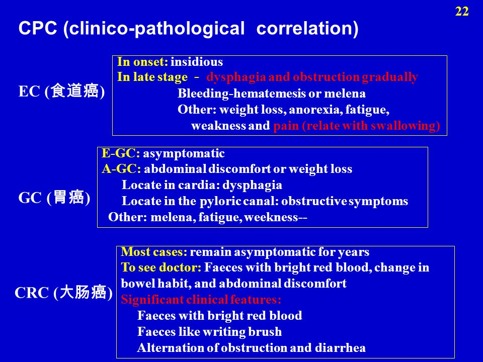 CPC (clinico-pathological correlation)