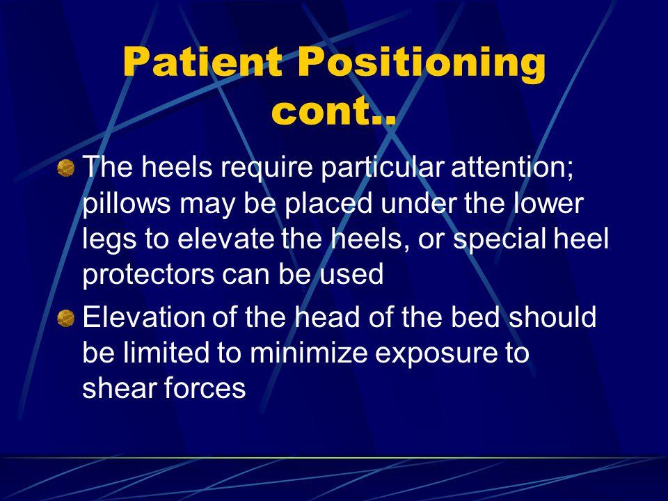 Patient Positioning cont..